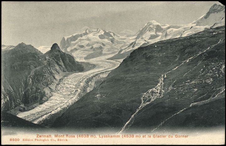 Zermatt, Glacier du Gorner