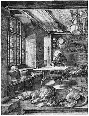 300px-Dürer-Hieronymus-im-Gehäus